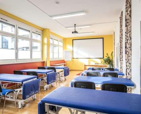 Modern ausgestattete Seminarräume