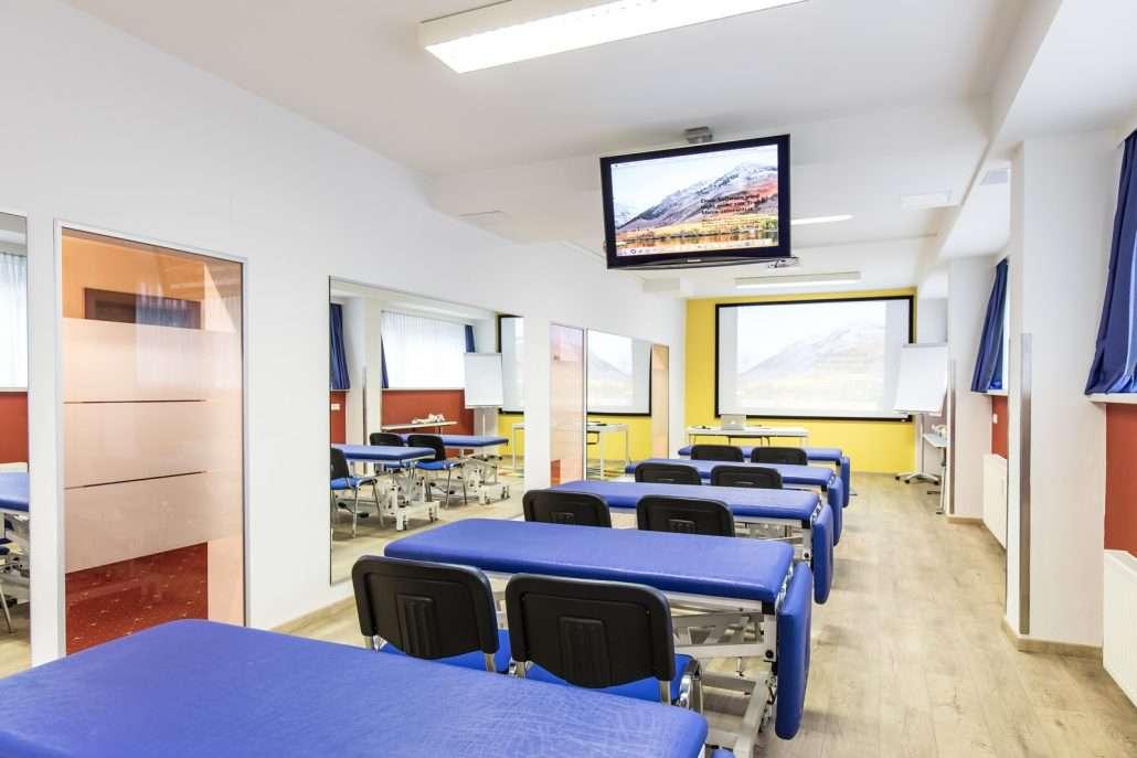 Modern ausgestattete Seminarräume in Klagenfurt