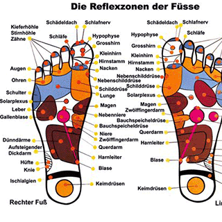 Fußreflexzonenmassage im FBZ Klagenfurt