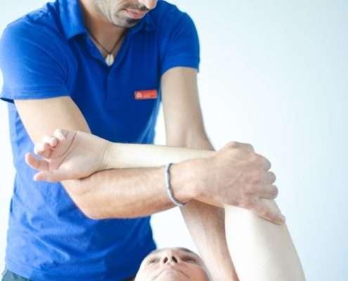 IAOM, Arthritis des Glenohumeralgelenks