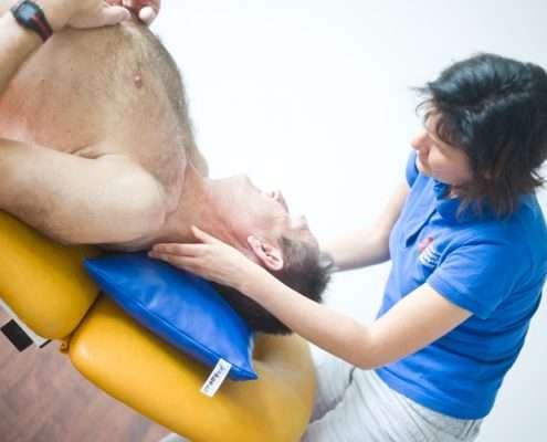 Fortbildung zur manuellen Therapie mit Birgit Auer