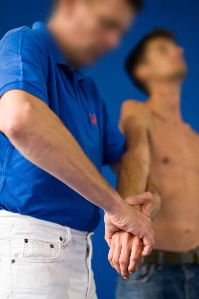IAOM-Methode und der Ellebogenschmerz