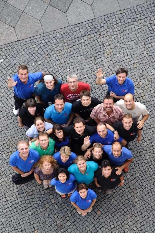 IAOM-Therapeuten beim Gruppenfoto