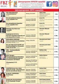 Jahresprogramm der Logopädie im FBZ Klagenfurt