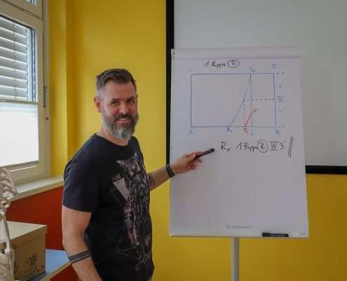 Maitland-Grundausbildung mit Rene Bakodi