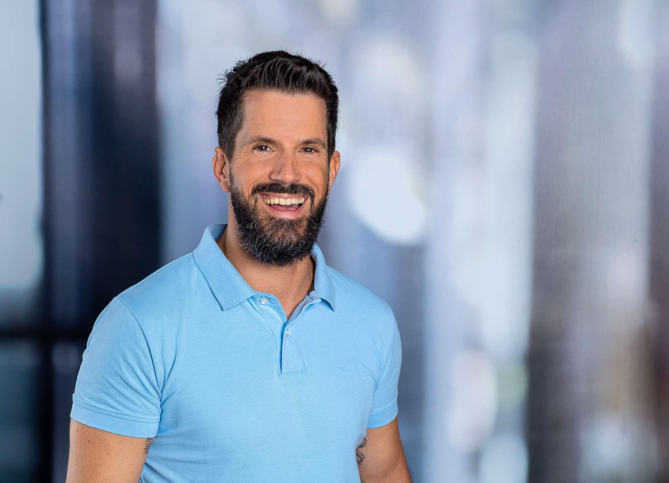 Sporttherapeut Oliver Schäfer