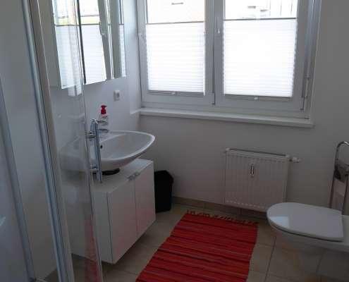Badezimmer in unseren Appartements